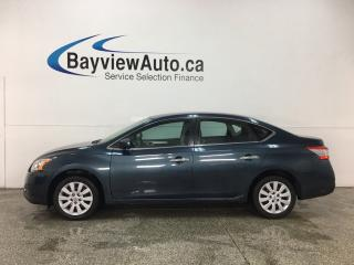 Used 2014 Nissan Sentra 1.8 S - AUTO! A/C! PWR GROUP! OFF 1 OWNER LEASE! for sale in Belleville, ON
