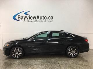 Used 2018 Chevrolet Malibu - ONSTAR! HTD LTHR! PANOROOF! REMOTE START! NAVIGATION! BOSE SOUND! for sale in Belleville, ON