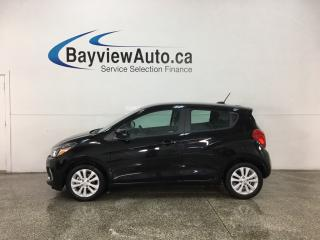 Used 2018 Chevrolet Spark 1LT CVT - AUTO! ONSTAR! MY LINK! WIFI! REVERSE CAM! A/C! CRUISE! for sale in Belleville, ON