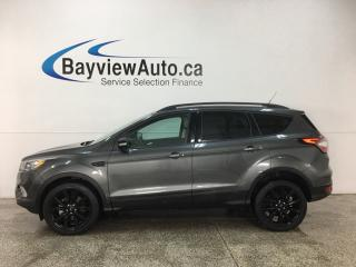 Used 2018 Ford Escape Titanium - AWD! PANOROOF! HTD LTHR TRIM! BLK ALLOYS! for sale in Belleville, ON