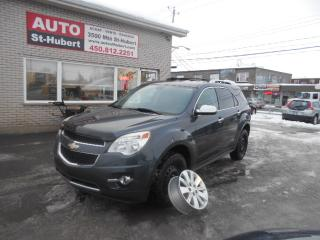 Used 2010 Chevrolet Equinox LT ** 4 MAGS INCLUS ** for sale in St-Hubert, QC