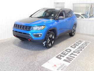 Used 2018 Jeep Compass Trailhawk for sale in Red Deer, AB