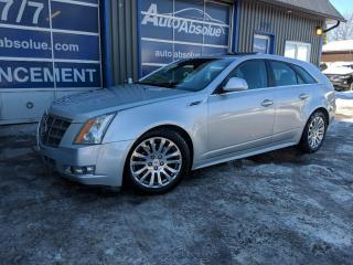 Used 2010 Cadillac CTS Premium + Navi for sale in Boisbriand, QC