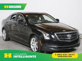 Used 2015 Cadillac ATS AC GR ELEC TOIT for sale in St-Léonard, QC