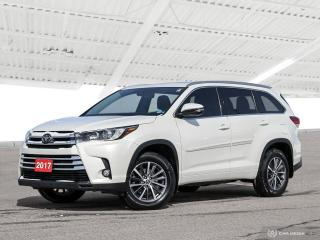 Used 2017 Toyota Highlander XLE USED SALES TEAM NOW IN THE MAIN SHOWROOM for sale in Waterloo, ON