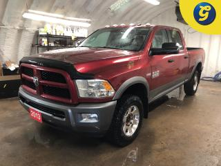 Used 2013 RAM 2500 OUTDOORSMAN * 4X4 * Crew Cab * Hemi * Remote start * Heated mirrors * Adjustable peddles * Power drivers seat/windows/mirrors * Tow hitch w/ 6 pin con for sale in Cambridge, ON