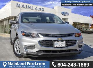 Used 2016 Chevrolet Malibu ACCIDENT FREE, LOCALLY DRIVEN for sale in Surrey, BC