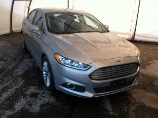 Used 2016 Ford Fusion ALL WHEEL DRIVE, NAVIGATION, REVERSE CAMERA, HEATED LEATHER SEATING for sale in Ottawa, ON