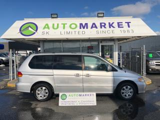 Used 2003 Honda Odyssey EX YOU WORK/YOU DRIVE! FINANCE IT! for sale in Langley, BC