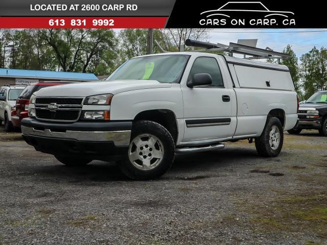 2007 Chevrolet Silverado 1500 Work Truck 4x4