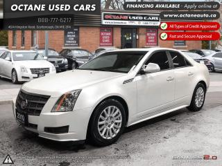 Used 2010 Cadillac CTS 3.0L Accident Free! Ontario Vehicle! for sale in Scarborough, ON