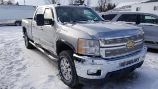 Used 2011 Chevrolet Silverado 3500HD Duramax Crew 4x4 for sale in Carberry, MB