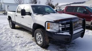 Used 2012 Chevrolet Silverado 2500 HD Duramax Crew Cab 4x4 for sale in Carberry, MB