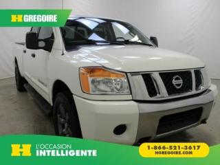 Used 2012 Nissan Titan SV CREW-CAB 4X4 V8 for sale in St-Léonard, QC