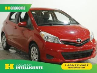 Used 2014 Toyota Yaris LE for sale in St-Léonard, QC