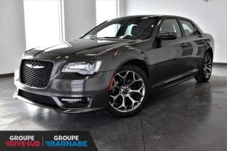 Used 2018 Chrysler 300 300S | TOIT PANO+NAVI+CUIR+MAGS 20'' for sale in St-Jean-Sur-Richelieu, QC