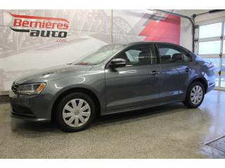 Used 2015 Volkswagen Jetta Trendline for sale in Lévis, QC