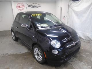 Used 2015 Fiat 500 Pop for sale in Ancienne Lorette, QC