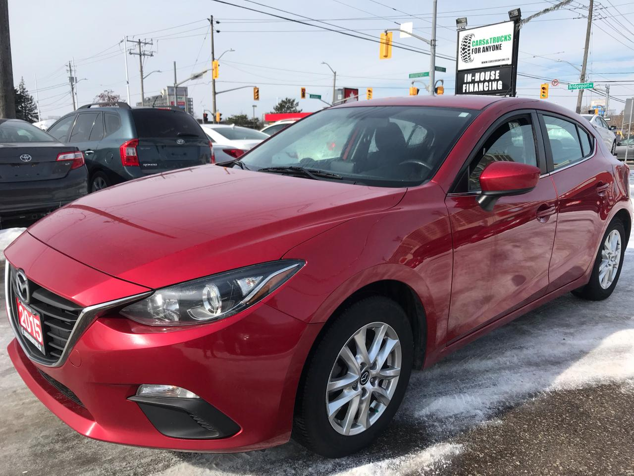 2015 Mazda MAZDA3 GS l Alloys l AC l Navigation