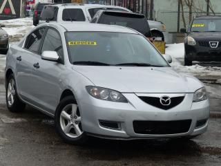 Used 2009 Mazda MAZDA3 LOW KMS, ALLOY WHEELS, POWERED OPTIONS, CERTIFIED for sale in Mississauga, ON