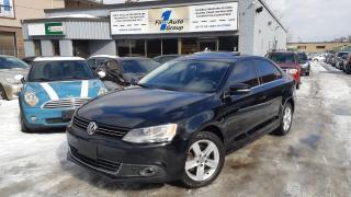 Used 2014 Volkswagen Jetta TDI Comfortline w/P-MOON for sale in Etobicoke, ON