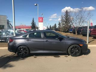 Used 2019 Honda Civic Sedan Sport Remote Start Back Up Cam for sale in Red Deer, AB