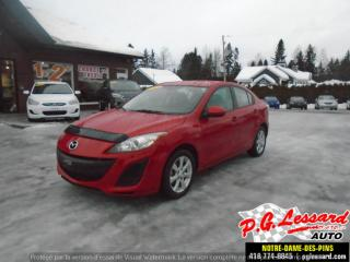 Used 2011 Mazda MAZDA3 GX for sale in St-Prosper, QC