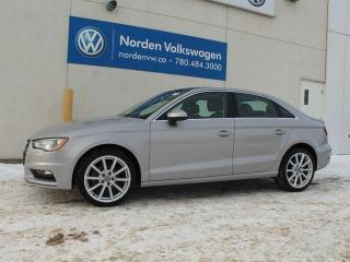 Used 2015 Audi A3 2.0 TDI TECHNIK - DIESEL / LEATHER / NAVI for sale in Edmonton, AB