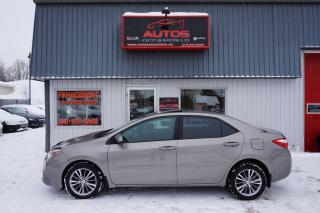 Used 2014 Toyota Corolla Le Eco Cuir for sale in Lévis, QC