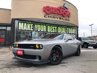 Used 2016 Dodge Challenger SRT Hellcat 707 HP,   NAVI, REAR CAM RARE COLOR for sale in Toronto, ON