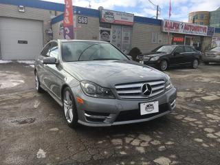Used 2012 Mercedes-Benz C-Class C 250 4MATIC_NAVI_SUNROOF_LEATHER_BLUETOOTH for sale in Oakville, ON