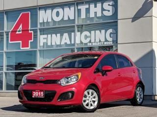 Used 2015 Kia Rio LX+ | Heated Seat | Cruise | Bluetooth for sale in St Catharines, ON