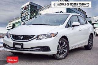 Used 2015 Honda Civic Sedan EX CVT No Accident   One Owner for sale in Thornhill, ON