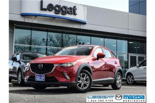 Used 2016 Mazda CX-3 GS - MOONROOF, HEATED SEATS, REAR CAMERA, BLUETOOTH for sale in Burlington, ON