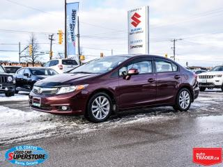 Used 2012 Honda Civic EX-L ~Heated Leather ~Power Moonroof for sale in Barrie, ON