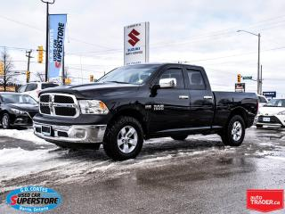 Used 2015 RAM 1500 ST Quad Cab 4x4 ~Trailer Tow Package for sale in Barrie, ON