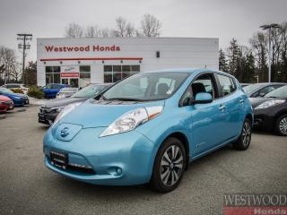Used 2015 Nissan Leaf SV, Zero Emissions 6.6 KW charger for sale in Port Moody, BC