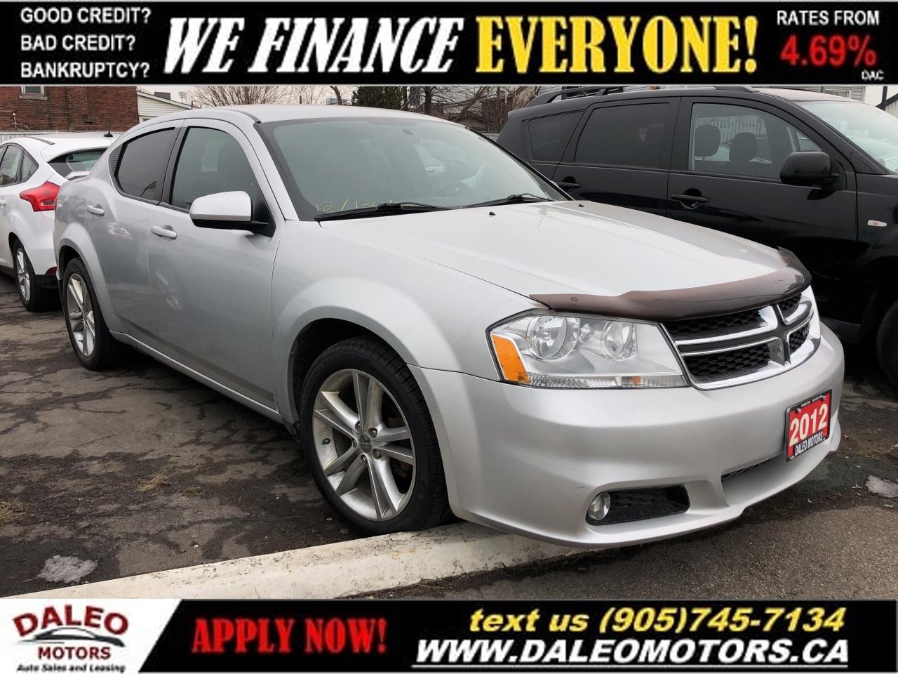 2012 Dodge Avenger SXT | 2.4L 4 CYL | HEATED SEATS | WE FINANCE!