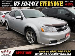 Used 2012 Dodge Avenger SXT   2.4L 4 CYL   HEATED SEATS   WE FINANCE! for sale in Hamilton, ON