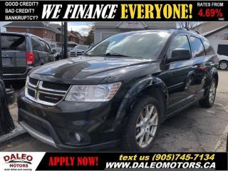 Used 2014 Dodge Journey R/T   AWD   V6   7 PASSENGER   FULLY LOADED! for sale in Hamilton, ON