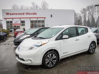 Used 2015 Nissan Leaf SL, Zero Emissions for sale in Port Moody, BC