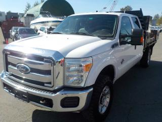 Used 2011 Ford F-350 SD Crew Cab 7.5 Foot Flat Deck 4WD Diesel for sale in Burnaby, BC