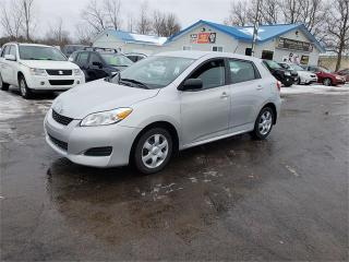 Used 2010 Toyota Matrix 61k safetied we finance for sale in Madoc, ON