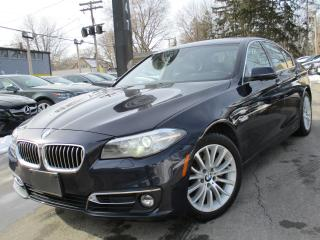 Used 2014 BMW 528 i 528I XDRIVE~NAVIGATION~38,000KMS~ONE OWNER~SUNROOF for sale in Burlington, ON