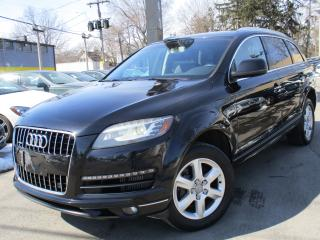 Used 2012 Audi Q7 3.0 TDI PREMIUM~81KMS~LOW KMS~7 PASS~SUNROOF for sale in Burlington, ON