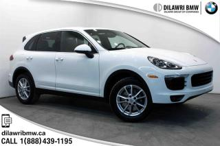 Used 2016 Porsche Cayenne w/ Tip Local one owner Factory warranty no accidents for sale in Regina, SK