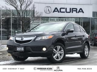 Used 2015 Acura RDX Tech at Navi, Backup Cam, Pwr Liftgate for sale in Markham, ON