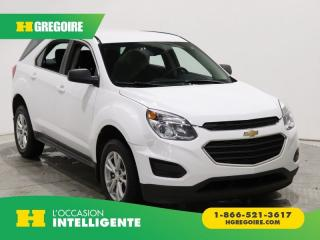 Used 2017 Chevrolet Equinox LS AWD A/C GR ELECT for sale in St-Léonard, QC