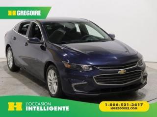 Used 2017 Chevrolet Malibu LT CAMERA DE RECULE for sale in St-Léonard, QC
