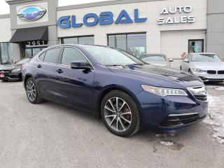 Used 2015 Acura TLX Technology Package NAVIGATION LEATHER for sale in Ottawa, ON